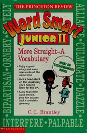 Cover of: The Princeton Review word smart junior II