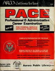Cover of: Professional and administrative career examination | Ralph A. Sperry, Linda Bernbach