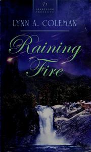 Cover of: Raining fire