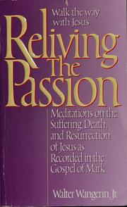 Cover of: Reliving the passion