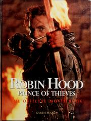 Cover of: Robin Hood, prince of thieves | Garth Pearce