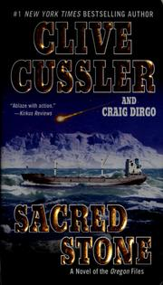Cover of: Sacred stone | Clive Cussler