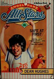 Cover of: Safe at first: Angel Park All-Stars
