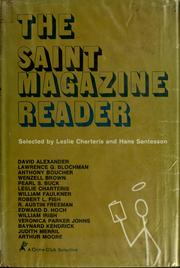 Cover of: The Saint magazine reader. | Leslie Charteris