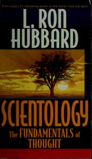 Cover of: Scientology | L. Ron Hubbard