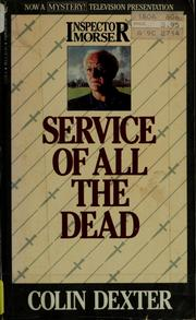 Cover of: Service of all the dead