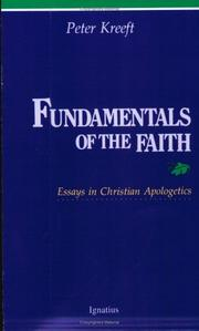 Cover of: Fundamentals of the Faith: essays in Christian apologetics