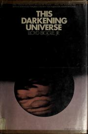 Cover of: This darkening universe