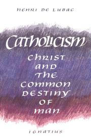 Cover of: Catholicism
