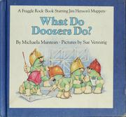 Cover of: What do Doozers do?