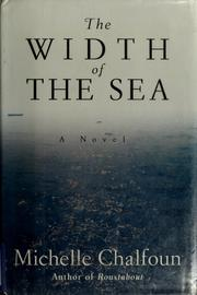 Cover of: The width of the sea | Michelle Chalfoun