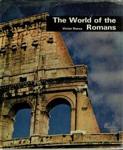 Cover of: The world of the Romans