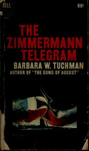Cover of: The Zimmermann telegram