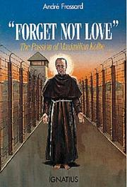 Cover of: Forget not love
