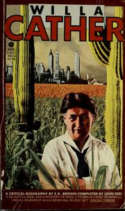 Willa Cather by Brown, E. K.