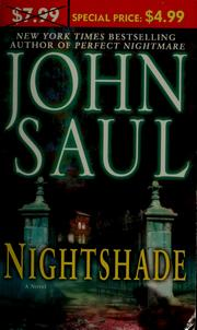 Cover of: Nightshade