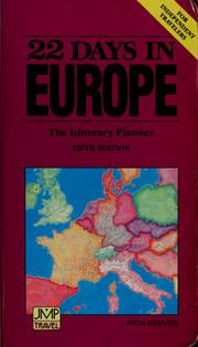 Cover of: 22 Days in Europe