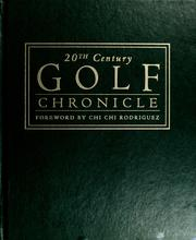 Cover of: 20th century golf chronicle