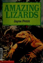 Cover of: Amazing Lizards