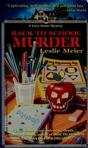 Cover of: Back to school murder