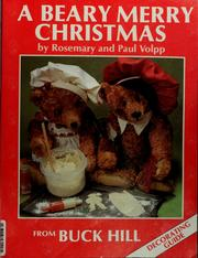 Cover of: A beary merry Christmas | Rosemary Volpp