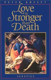 Cover of: Love Is Stronger Than Death