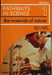 Cover of: Chemistry I (Pathways in science)