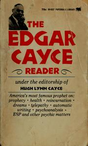 Cover of: The Edgar Cayce reader