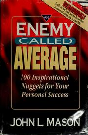 Cover of: An enemy called average | Mason, John