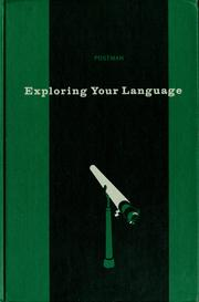 Cover of: Exploring your language