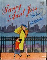Cover of: Fancy Aunt Jess