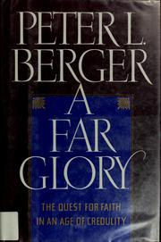 Cover of: A far glory