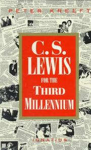 Cover of: C.S. Lewis for the third millennium: six essays on the Abolition of man