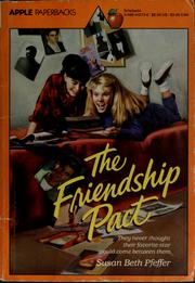 Cover of: The friendship pact