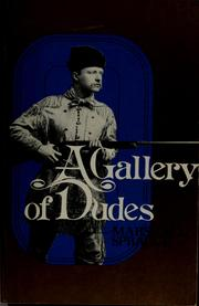 Cover of: A gallery of dudes
