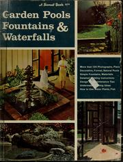 Cover of: Garden pools, fountains & waterfalls | Sunset Books