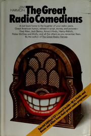 Cover of: The great radio comedians. | Jim Harmon