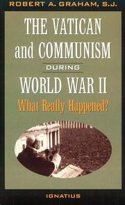 Cover of: The Vatican and communism in World War II