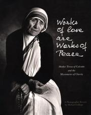 Cover of: Works of love are works of peace
