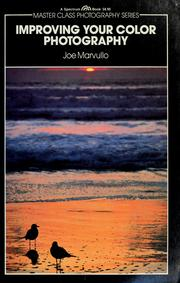 Cover of: Improving your color photography | Joe Marvullo