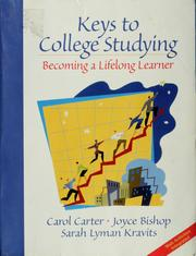 Cover of: Keys to college studying | Carol Carter