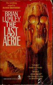 Cover of: The last aerie
