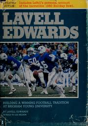 Cover of: LaVell Edwards