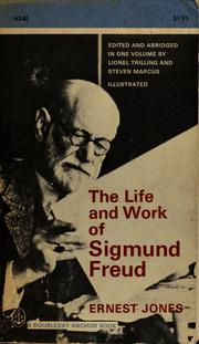 the life and work of sigmund freud The life and work of sigmund freud (three volume set) jones, ernest new york: basic books, inc, 1955-57 various printings hardcover complete in three volumes.
