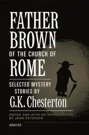 Father Brown of the Church of Rome by G. K. Chesterton