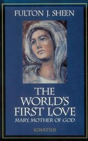 Cover of: The world's first love
