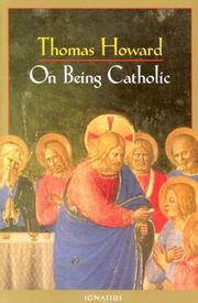 Cover of: On being Catholic