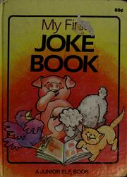 Cover of: My first joke book