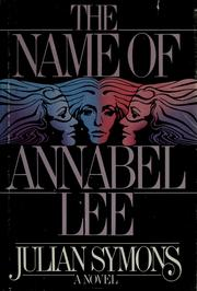 Cover of: The name of Annabel Lee