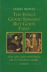 Cover of: The king's good servant but God's first